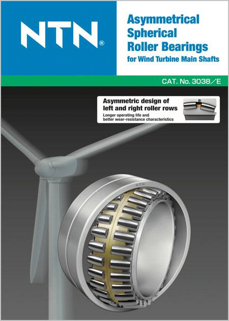 Asymmetrical Spherical Roller Bearings Catalog cover image