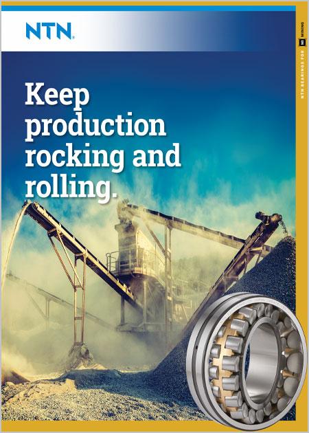 NTN Bearings for Aggregate Brochure cover image