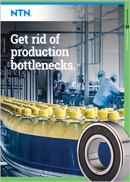 NTN Bearings for Beverage Bottling Brochure cover image