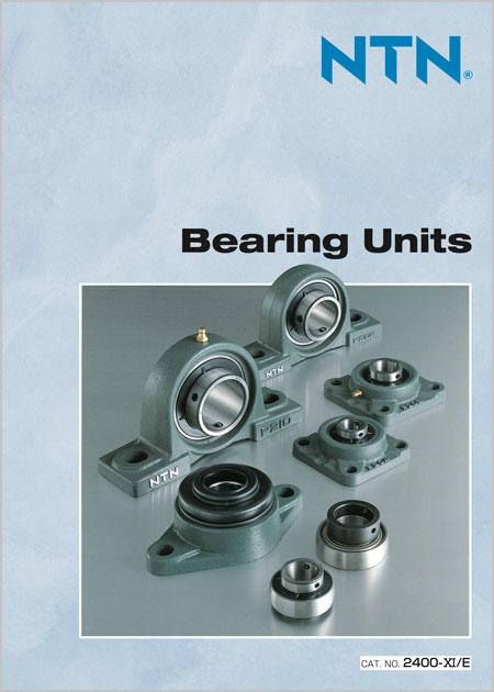 NTN Bearing Units Catalog cover image