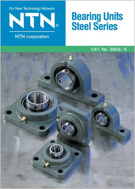 NTN Steel Series Bearing Units Catalog cover image
