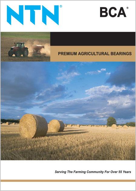 NTN Agricultural Bearings Catalog cover image