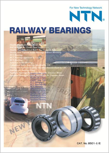 NTN Railway Bearings Catalog Cover Image